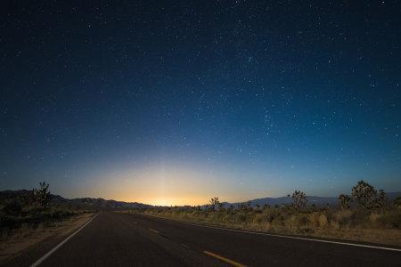 星空夜景背景高清背景图片素材下载