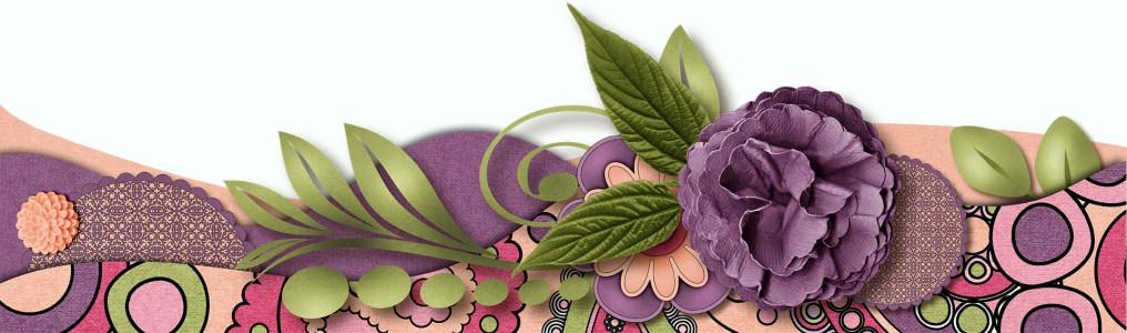 立体花朵背景高清背景图片素材下载