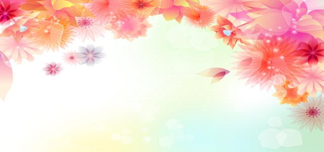 抽象花朵背景