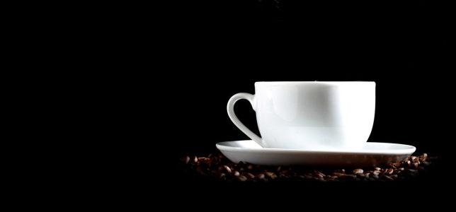 咖啡黑色背景