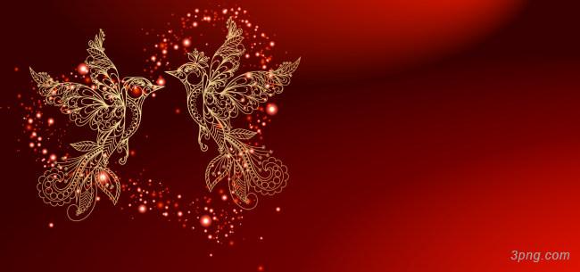 红色喜庆结婚背景背景高清大图-喜庆背景节日/喜庆