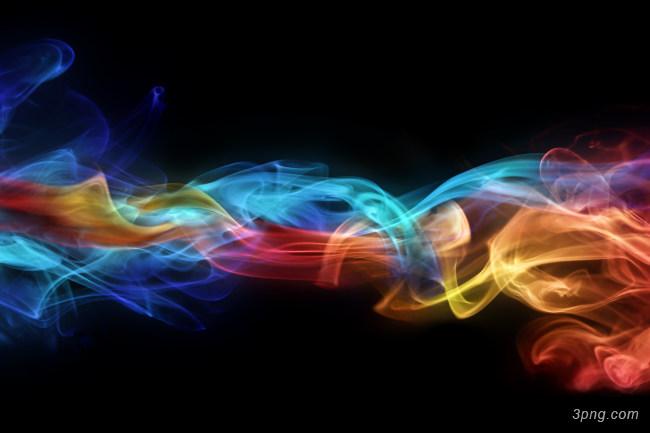 幻彩炫彩烟雾光效背景高清大图-炫彩背景特效图片