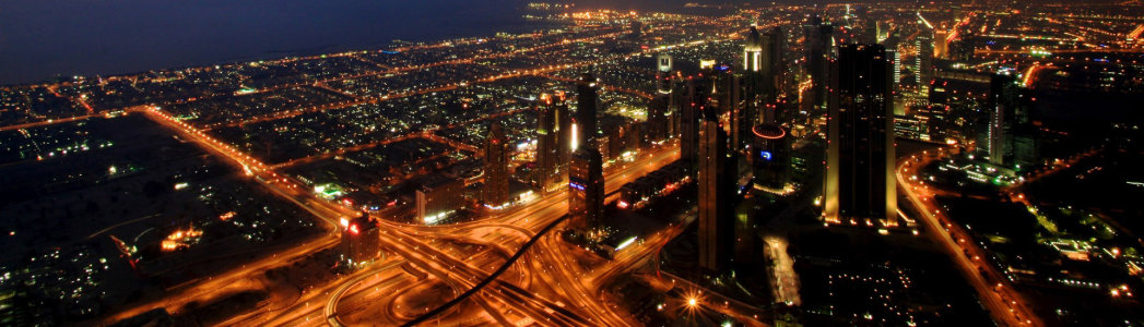 夜晚城市背景