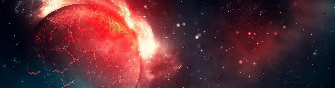 科幻大气设计banner背景高清背景图片素材下载