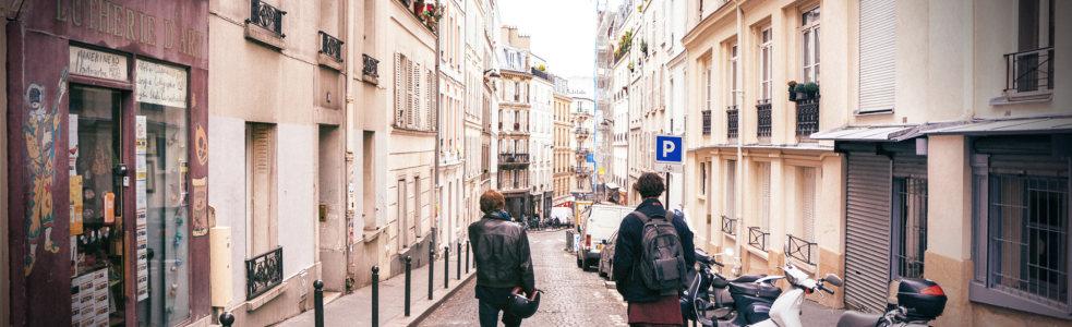 非主流欧式街景banner高清背景图片素材下载