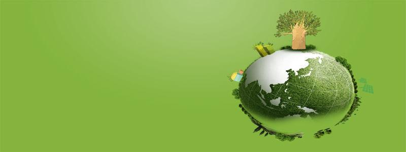 生态绿色地球背景