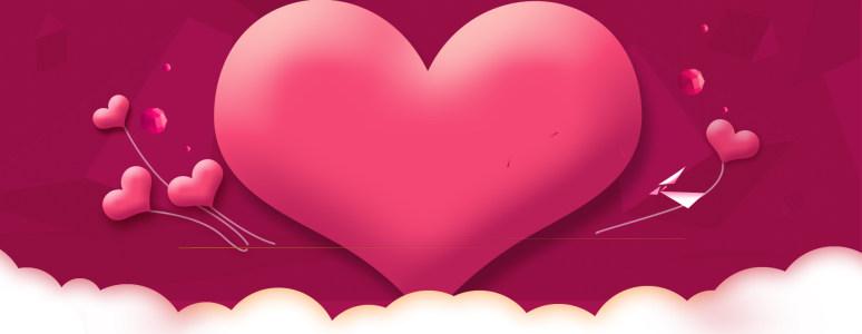 浪漫爱心背景