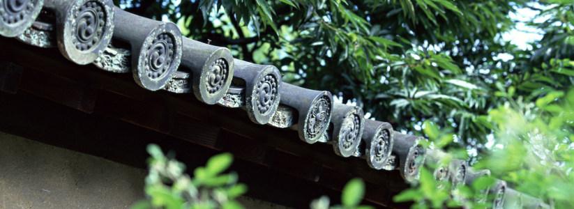 日式屋檐建筑