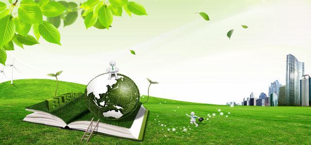绿色环保背景