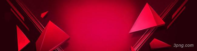 红色大气背景背景高清大图-大气背景Banner海报