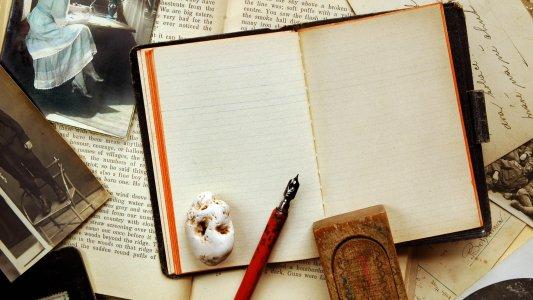 复古笔记本背景