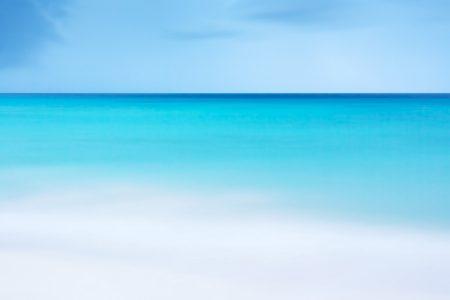 蓝色夏季海洋背景