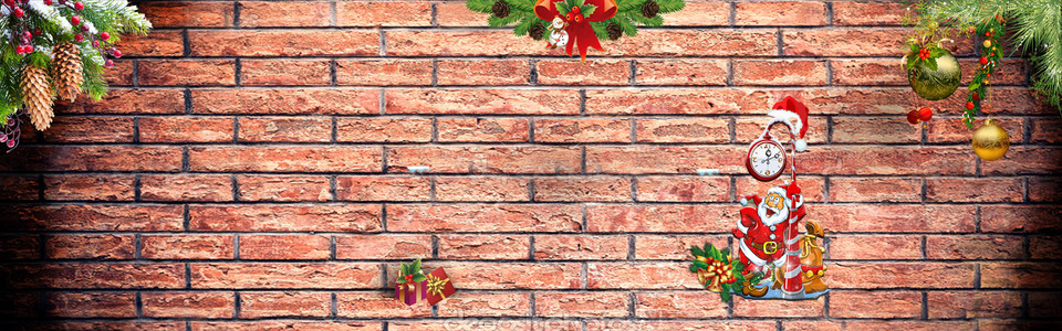 简约圣诞节淘宝海报背景高清背景图片素材下载