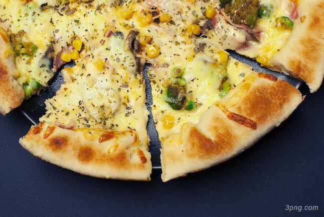 披萨高清背景背景高清大图-披萨背景餐饮美食