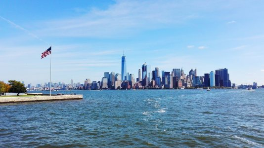 美国纽约城市高清背景图片素材下载