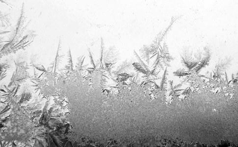 雪花冰晶背景高清背景图片素材下载