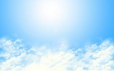 蓝天白云背景高清背景图片素材下载