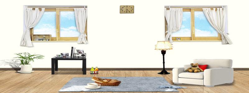 欧式家具背景