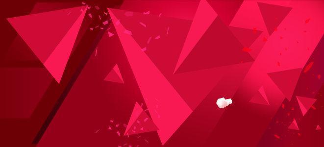 红色喜庆几何背景