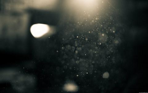 浪漫的光斑背景