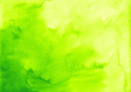 绿色水彩背景