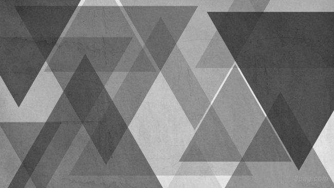 黑灰几何背景背景高清大图-几何背景扁平/渐变/几何