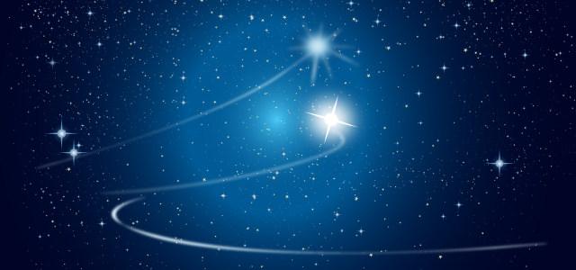 蓝色梦幻星空