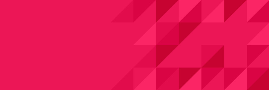 几何形banner背景