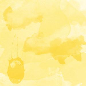 淡黄色水彩底纹背景