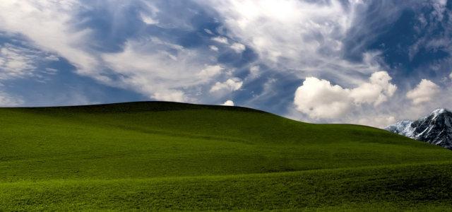 草原摄影背景
