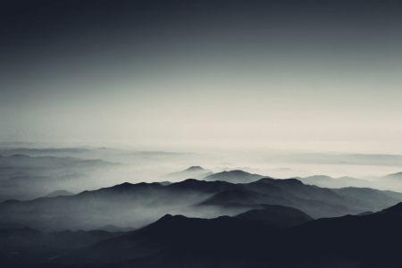山峰山脉高清背景图片素材下载