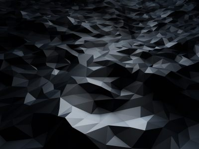 黑色几何背景