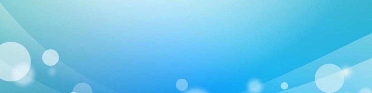 纯色气泡banner创意设计