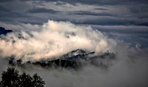 大气云层企业文化背景