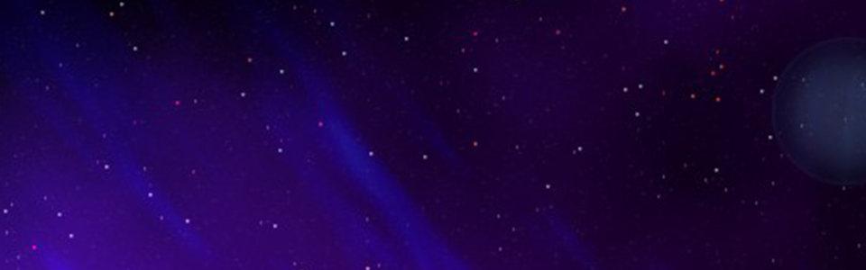 蓝色背景banner高清背景图片素材下载