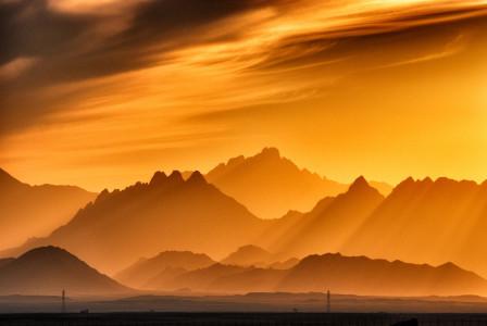 山峰山脉背景