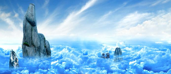 行业背景 漂亮云彩