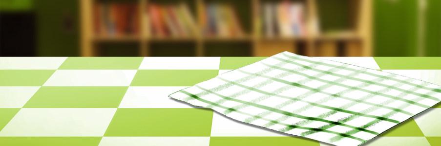 桌子食品清新背景banner