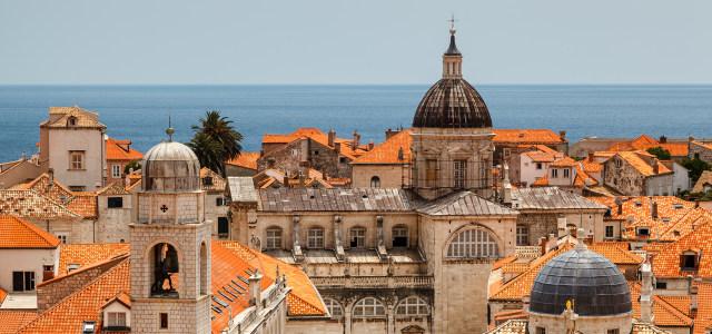 海边城市背景高清背景图片素材下载