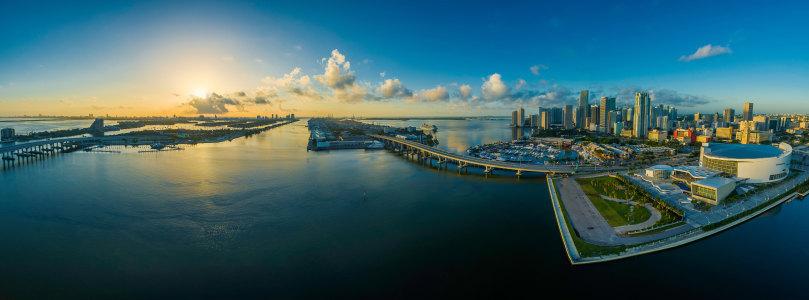 城市全景高清背景图片素材下载