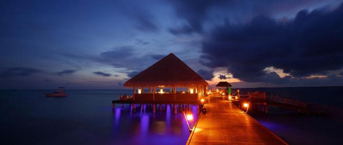 美丽夜景摄影