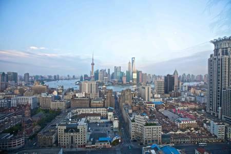 上海城市高清背景图片素材下载