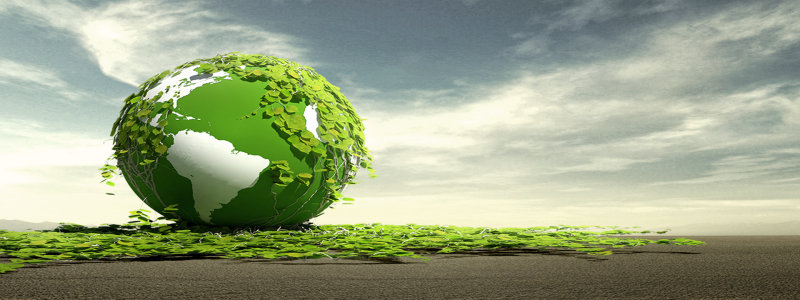 环保背景海报