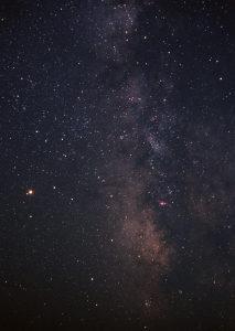 星空夜景背景