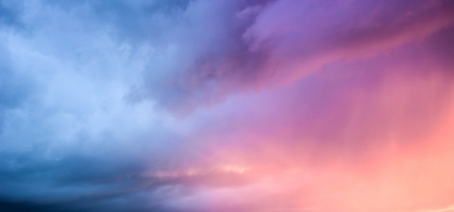 唯美彩色天空背景