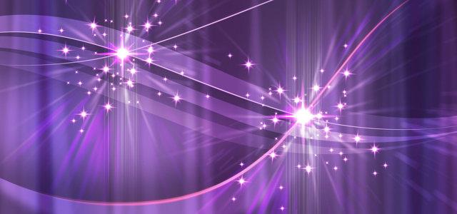 紫色炫光背景