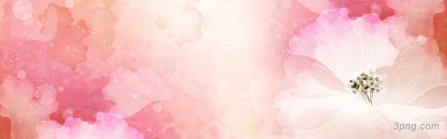 手绘粉色系花朵背景图背景高清大图-色系背景卡通/手绘/水彩