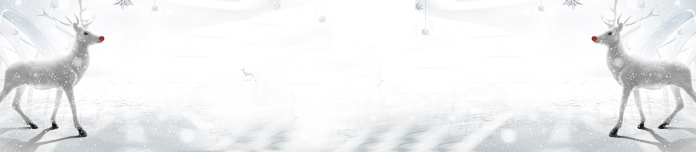 冬季雪景淘宝羽绒服小鹿背景banner高清背景图片素材下载