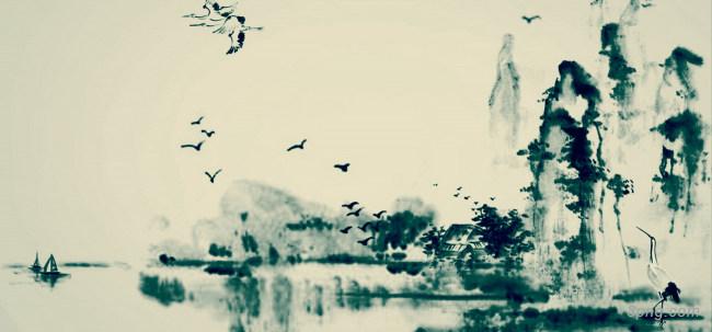 幽美淡雅的中国风背景背景高清大图-幽美背景淡雅/清新/唯美