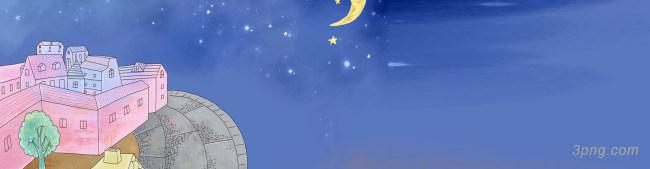 童话背景背景高清大图-童话背景高光/光斑/星空